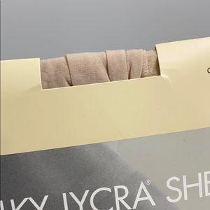 Silky Lycra Sheer Control Top Hosiery